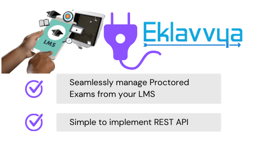 Proctored exams integration with LMS