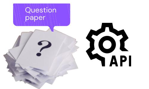 Question bank management API