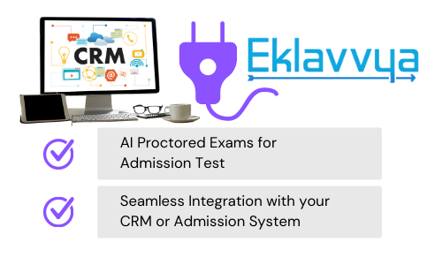 Seamless Integration with your CRM or Admission System